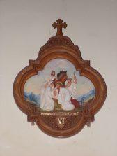 Celles - Eglise Saint-Christophe - Le chemin de Croix (12 juillet 2018)