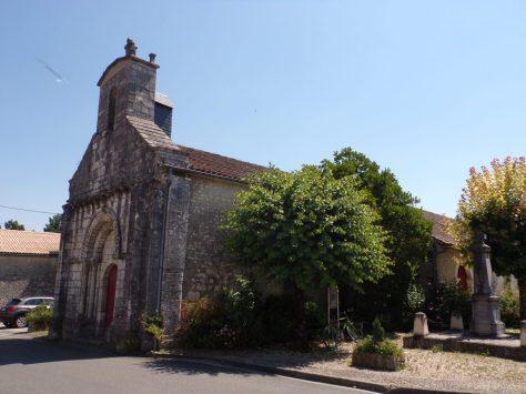 Celles - Eglise Saint-Christophe (8 juillet 2018)
