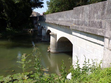 Celles -Pont à quatre arches (8 juillet 2018)