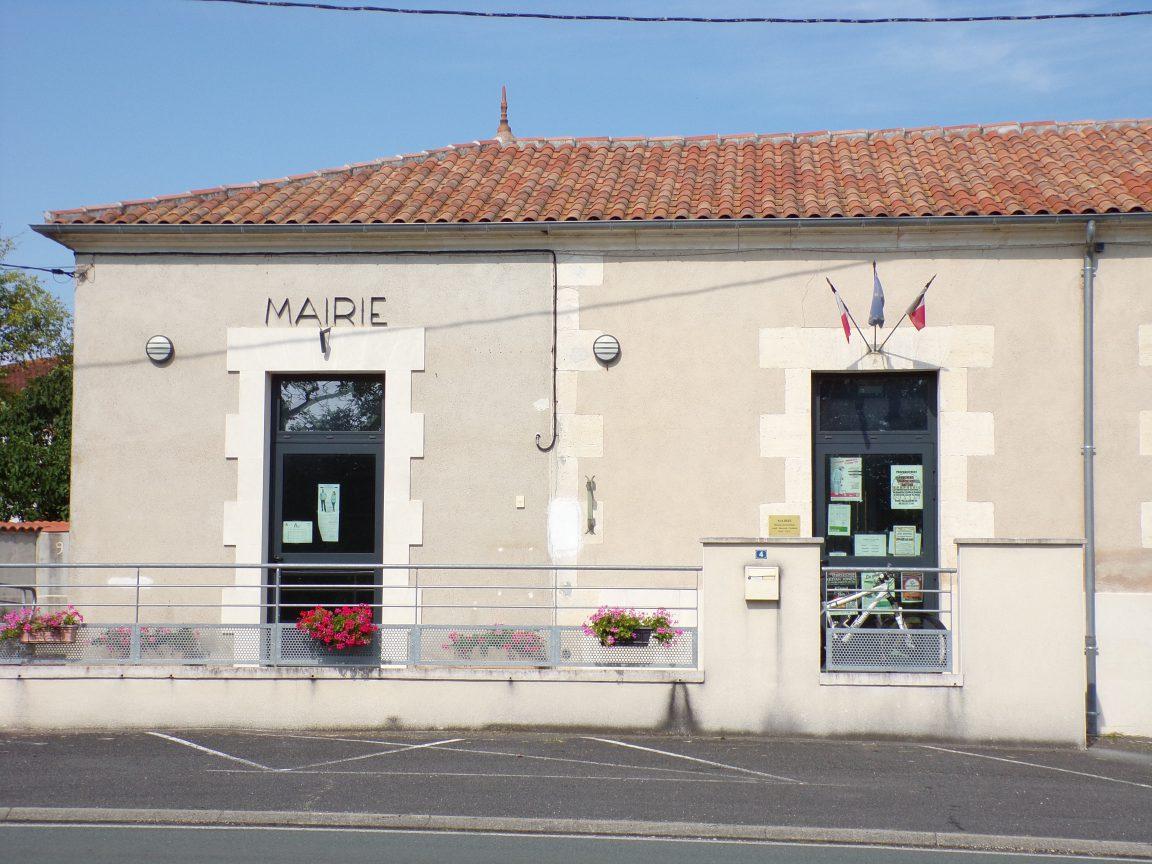 Cierzac - La mairie (18 juillet 2018)