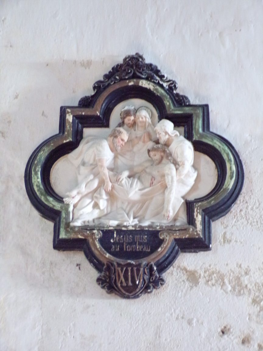 Cierzac - L'église Notre-Dame - Le chemin de croix (18 juillet 2018)