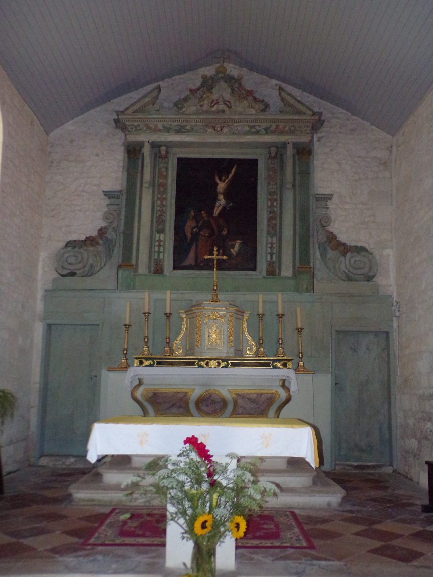 Coulonges - L'église Saint-Saturnin - L'abside (8 juillet 2018)