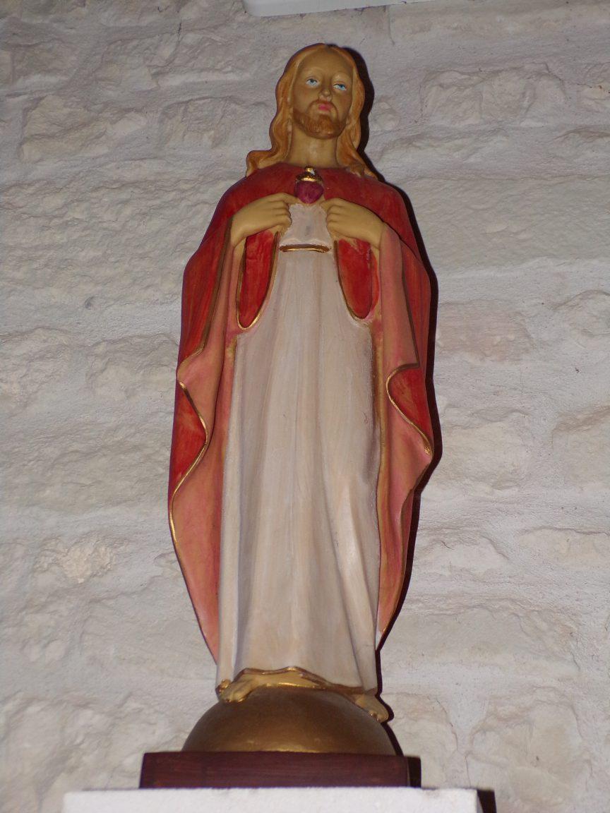 Coulonges - L'église Saint-Saturnin - Sacré Coeur de Jésus (8 juillet 2018)
