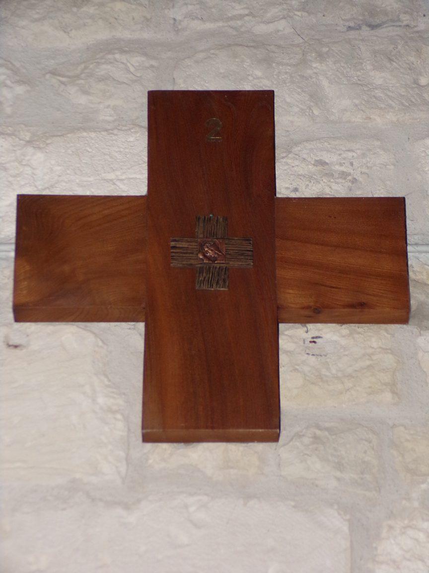 Coulonges - L'église Saint-Saturnin - Le chemin de croix (8 juillet 2018)