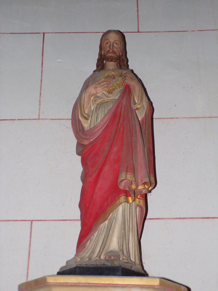 Courbillac - L'église d'Herpes - Sacré Coeur de Jésus (23 juillet 2018)