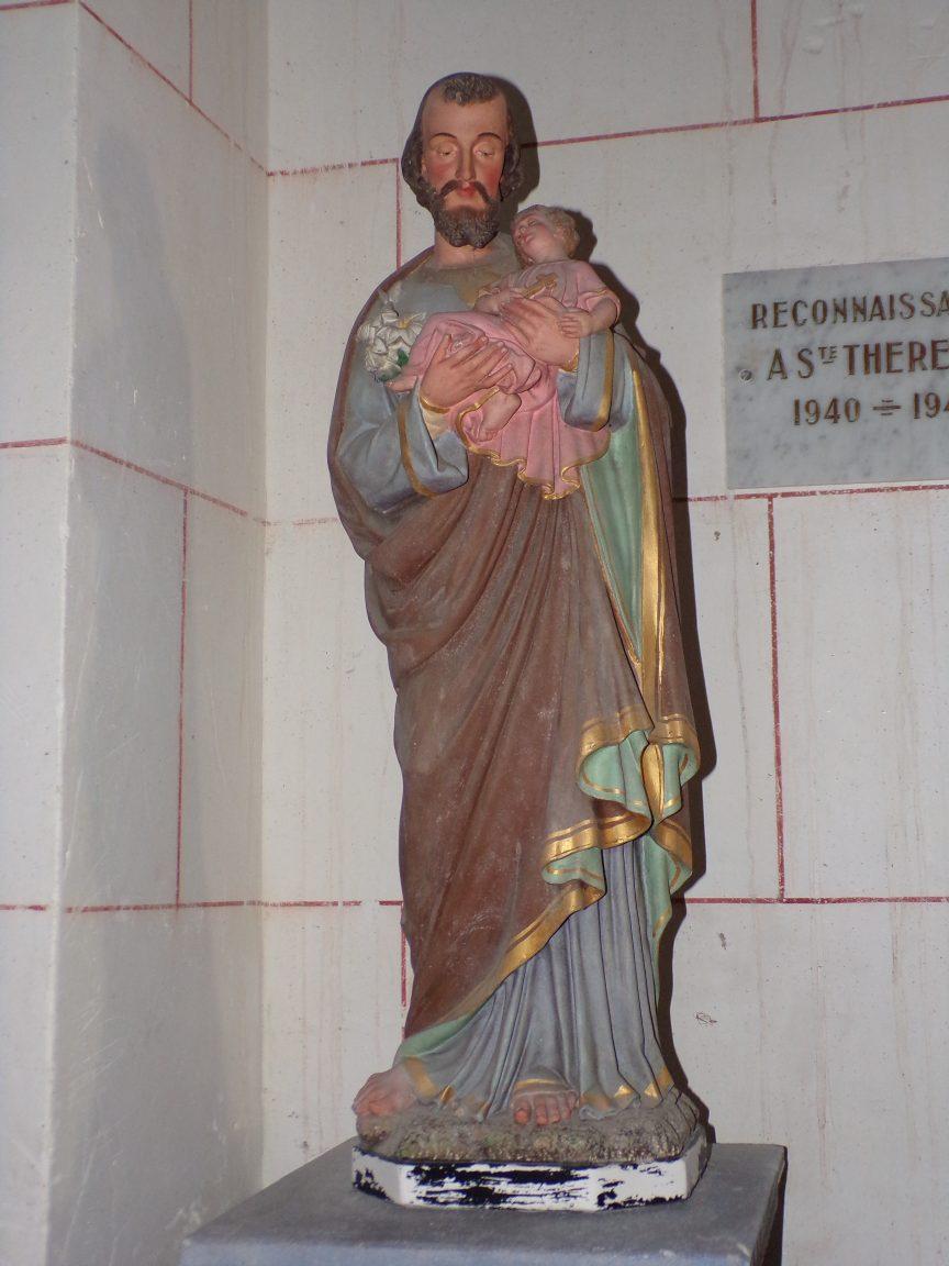Courbillac - L'église d'Herpes (23 juillet 2018)