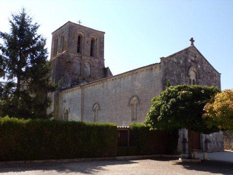 Courbillac - Eglise Saint-Aubin (23 juillet 2018)