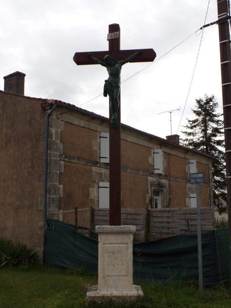 Germignac - La Croix de mission (17 juillet 2018)