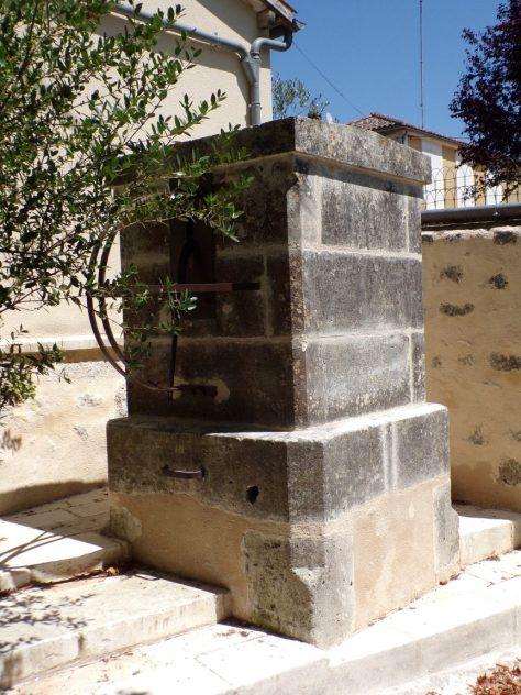 Saint-Brice - La fontaine (25 juillet 2018)