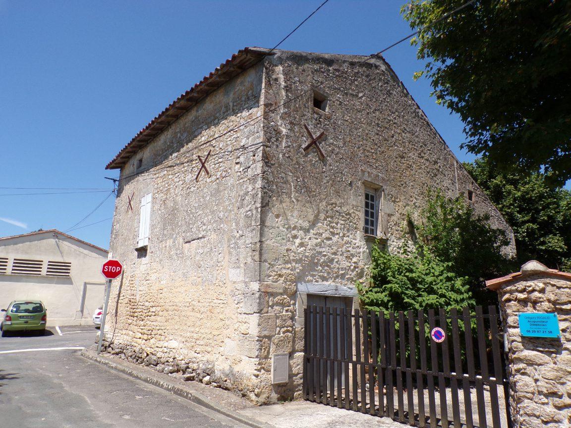 Saint-Brice - La première maison de Saint-Brice du 13e siècle (25 juillet 2018)
