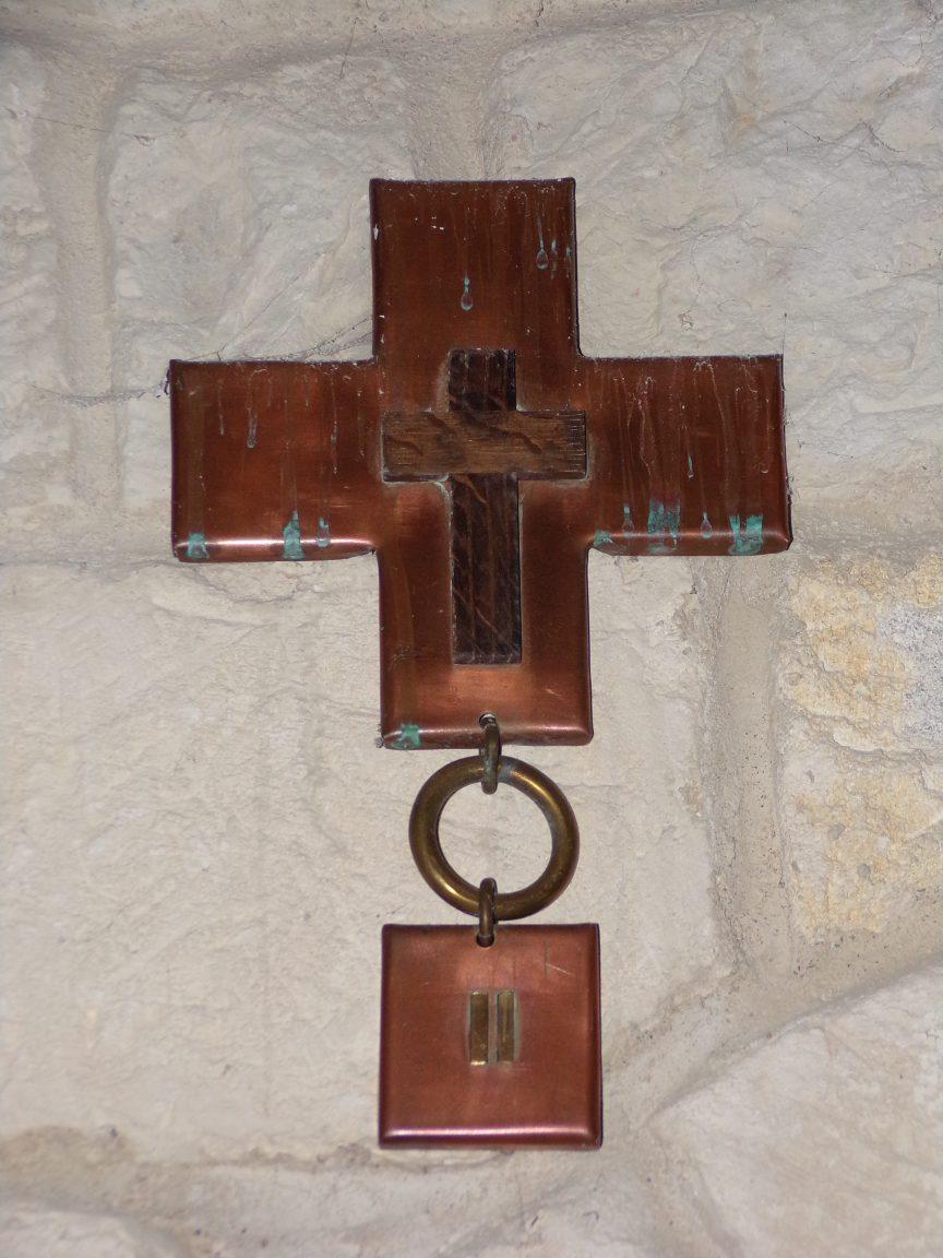 Saint-Martial sur le Né - L'église Saint-Martial - Le chemin de croix (17 juillet 2018)