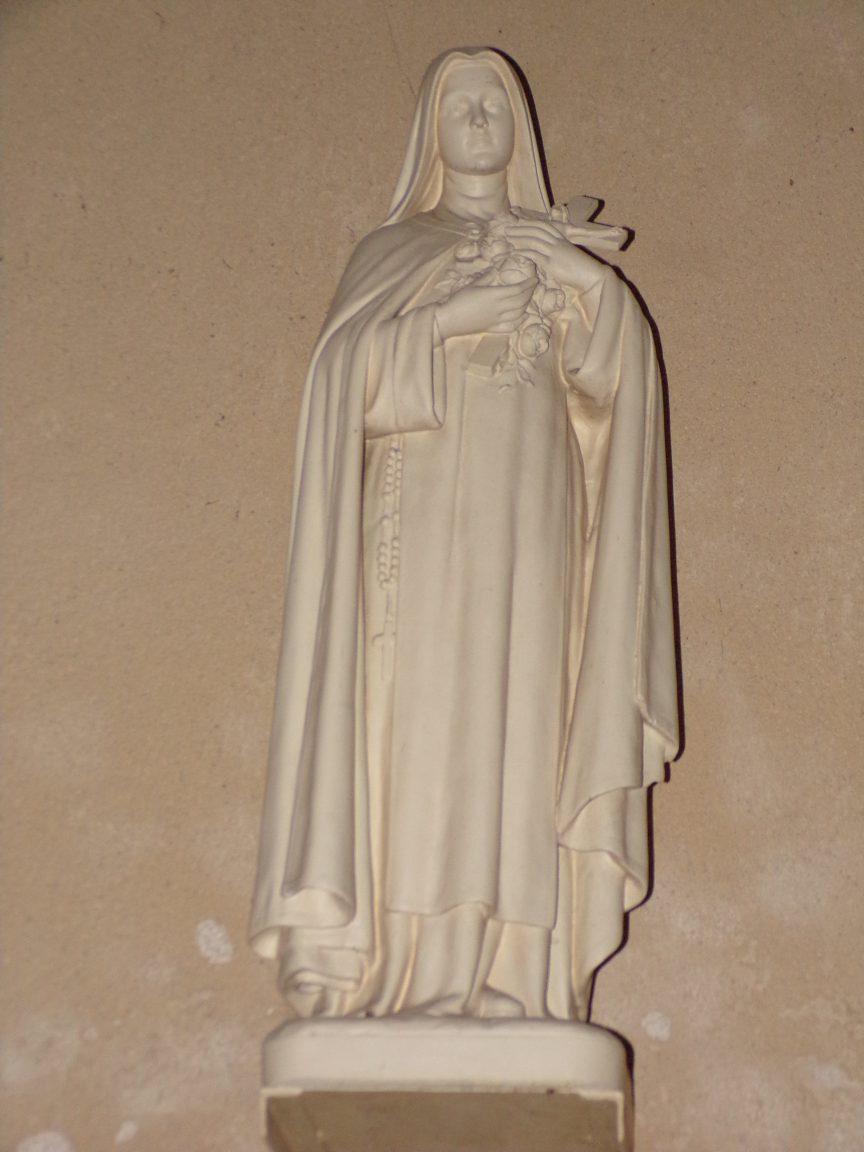 """Saint-Martial sur le Né - L'église Saint-Martial - Sainte Thérèse de Lisieux dite """"Sainte Thérèse de l'Enfant Jésus"""" (17 juillet 2018)"""