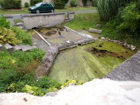Saint-Martial sur le Né - Le lavoir (17 juillet 2018)