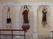 Sainte-Sévère - L'église Sainte-Sévère - Sainte Thérèse de l'Enfant Jésus, Saint Antoine de Padoue (23 juillet 2018)