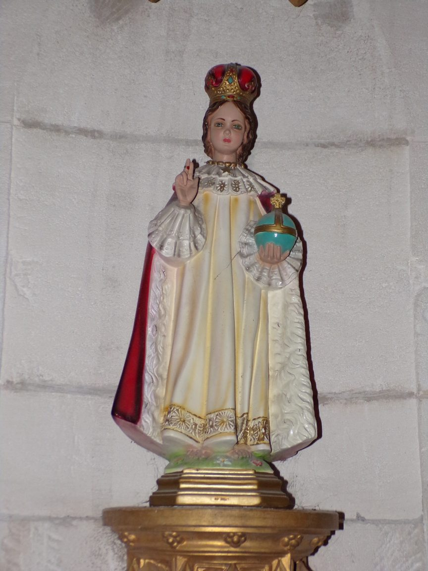 Segonzac - L'église Saint-Pierre - L'Enfant Jésus (11 juillet 2018)