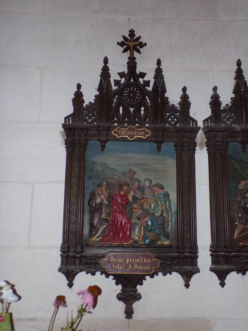 Segonzac - L'église Saint-Pierre - Le chemin de Croix (11 juillet 2018)