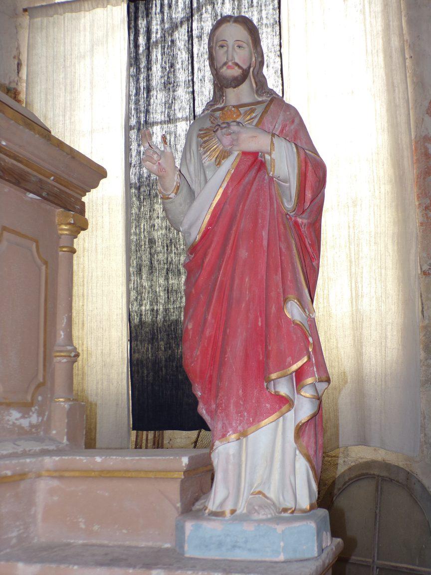 Brie sous Matha - L'église Saint-Pierre - Sacré Coeur de Jésus (13 août 2018)