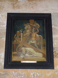 Brie sous Matha - L'église Saint-Pierre - Le chemin de croix (13 août 2018)