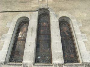 Église Sainte-Marie-Madeleine de Crouin - Vitraux (16 juillet 2015)