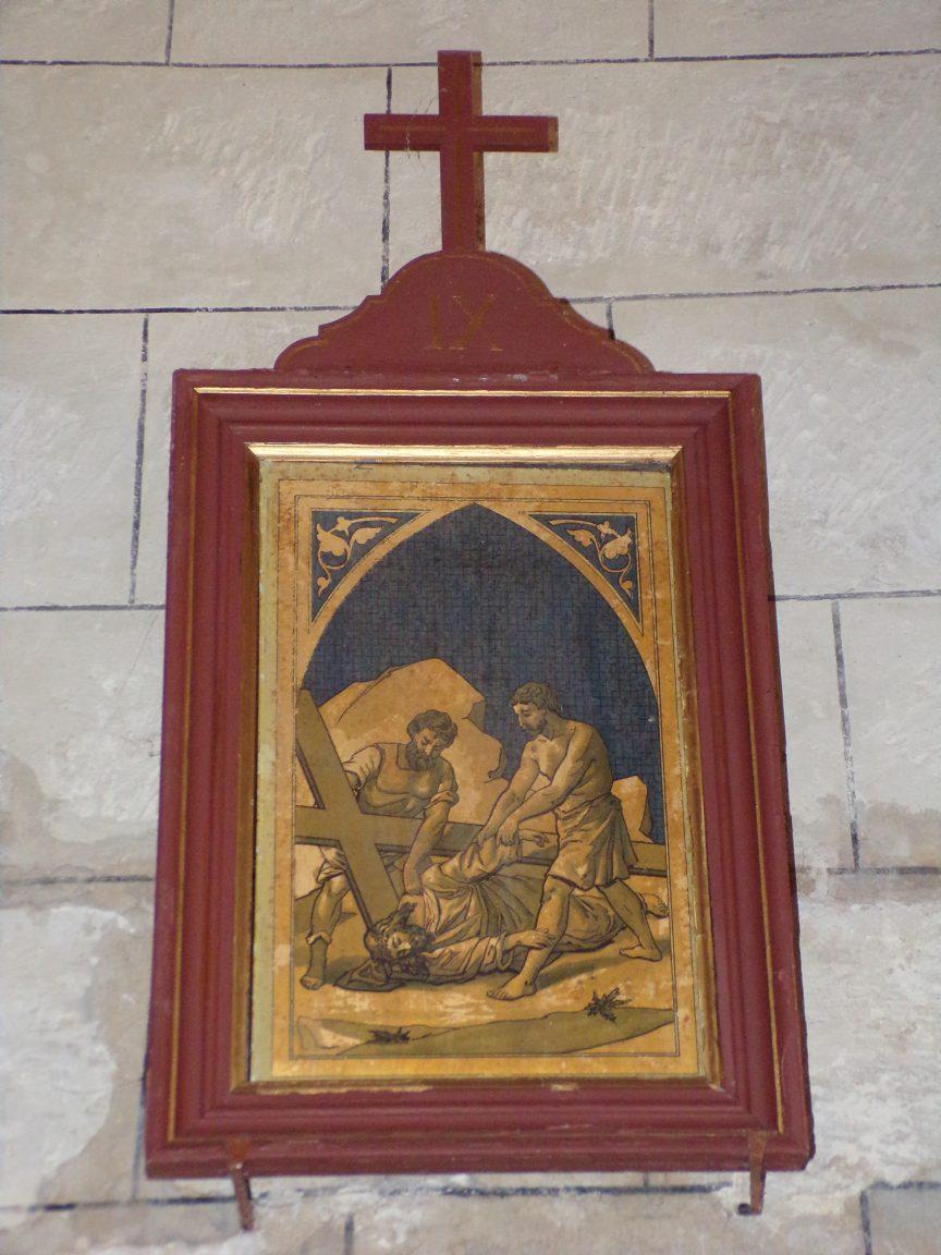 Mareuil - L'église Notre-Dame - Le chemin de croix (21 août 2018)