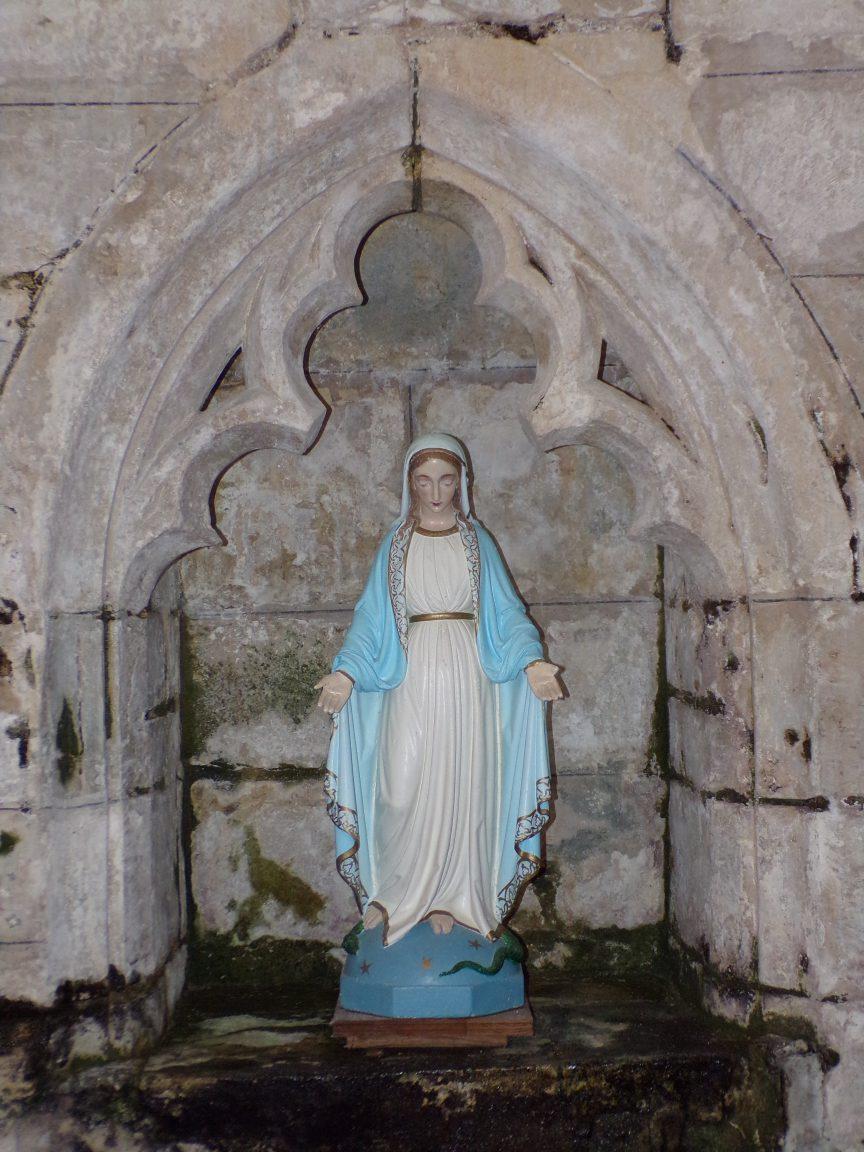 Mareuil - L'église Notre-Dame - Notre Dame (21 août 2018)