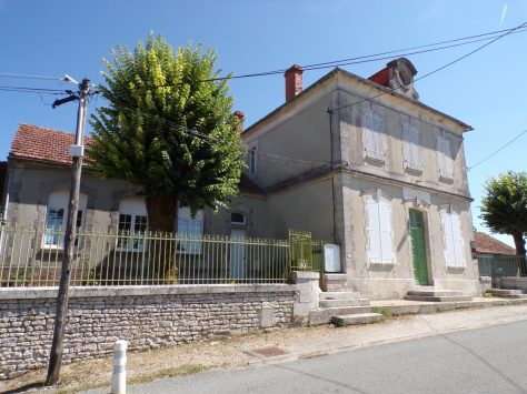 Mareuil - L'ancienne mairie (21 août 2018)