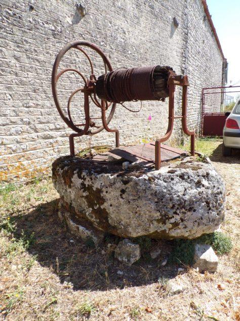 Mareuil - Le puits rue Traversière (21 août 2018)