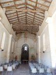 Plaizac - L'église Saint-Hippolyte (ou Saint-Martin) - Vue de l'entrée (21 août 2018)
