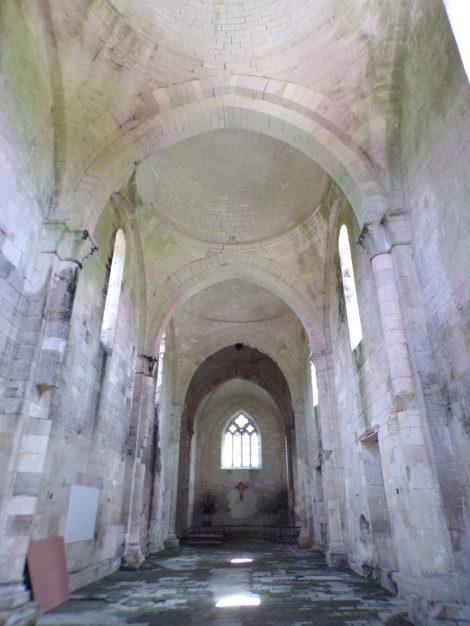Saint-Brice - L'abbaye de Châtres - Vue de l'entrée (30 juillet 2018)