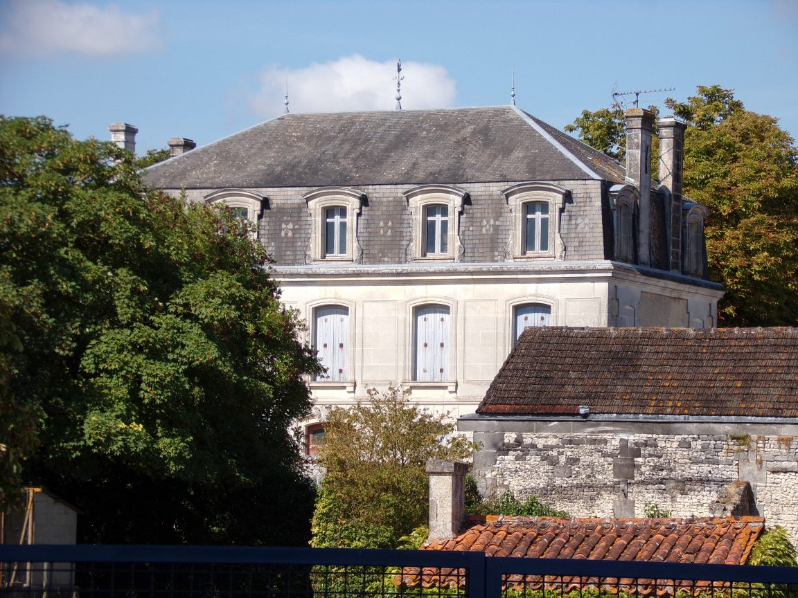 Segonzac - Un logis à Bouchet (15 août 2018)