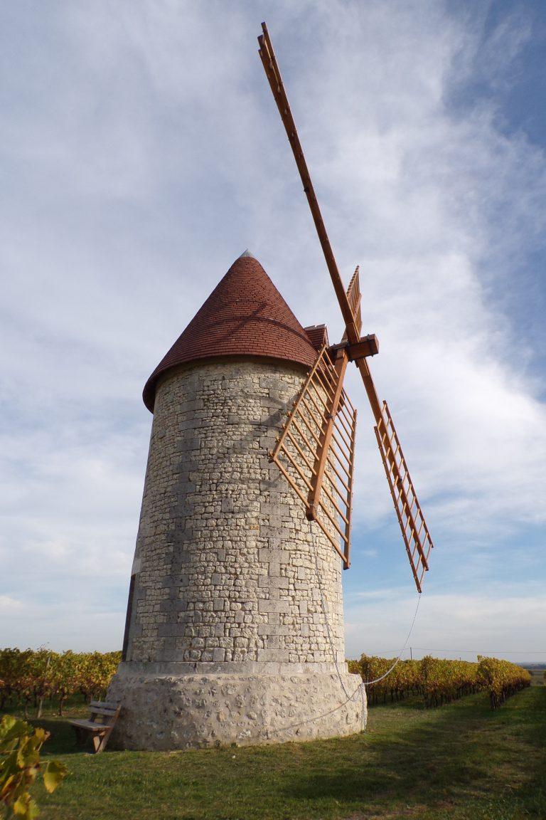 Verrières - Le moulin à vent (1 novembre 2017)