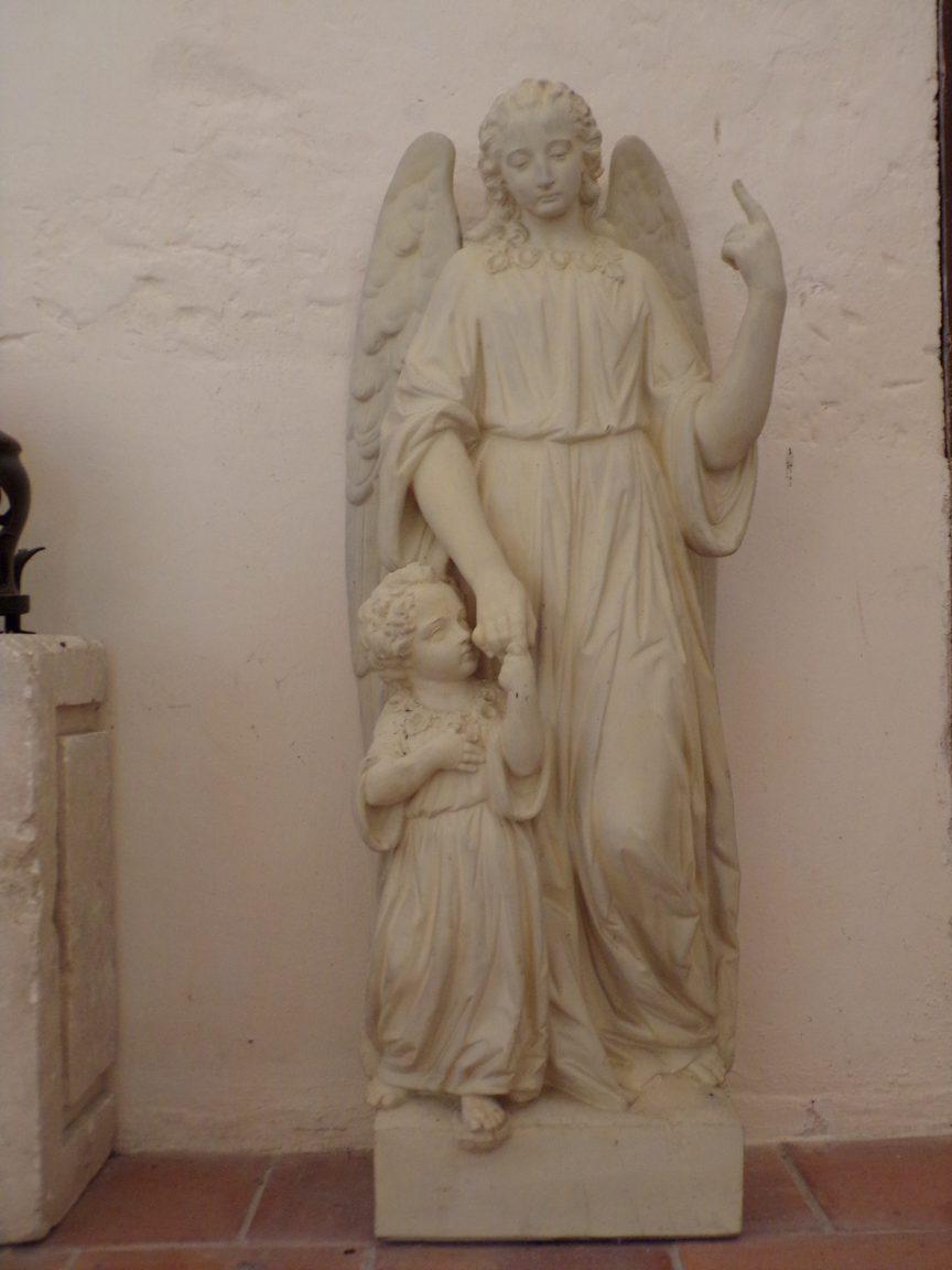 Chassors - L'église Saint-Romain - Un ange (15 septembre 2018)
