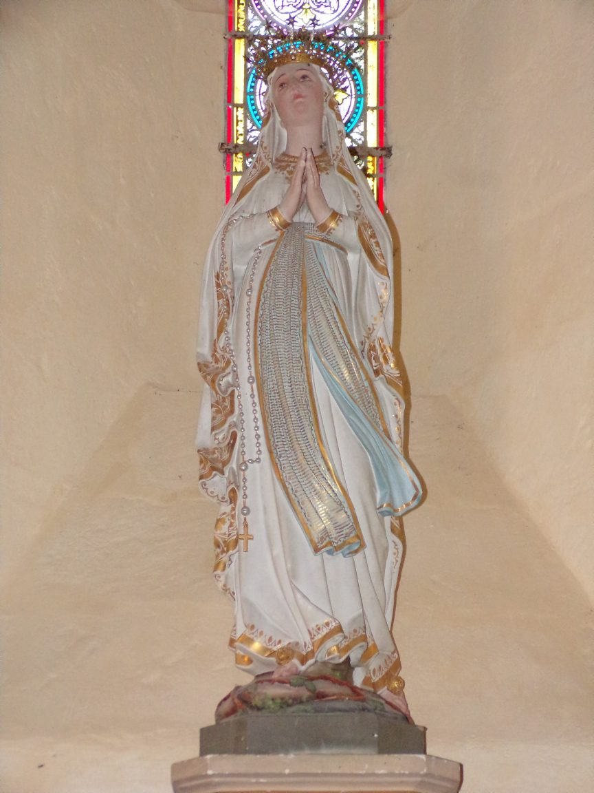 Mesnac - L'église Saint-Pierre - Vierge Miraculeuse (16 septembre 2018)
