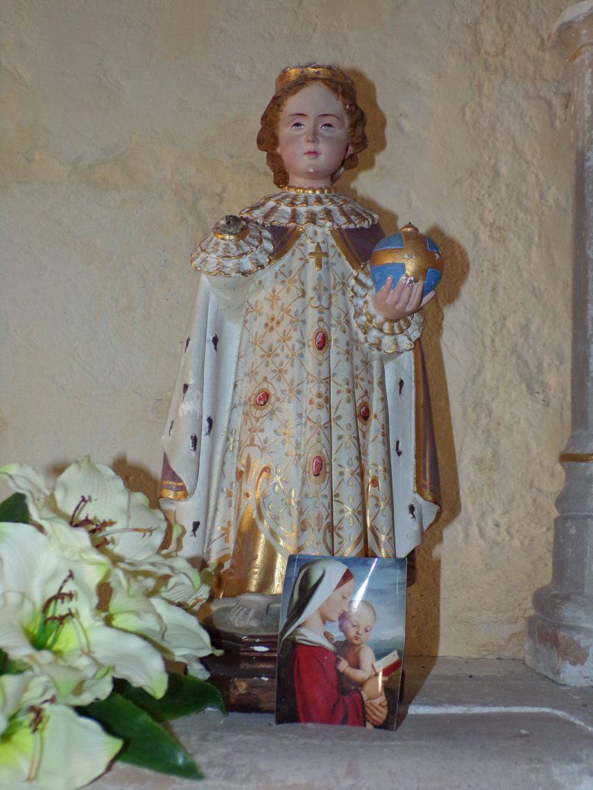 Mesnac - L'église Saint-Pierre - L'Enfant Jésus (16 septembre 2018)