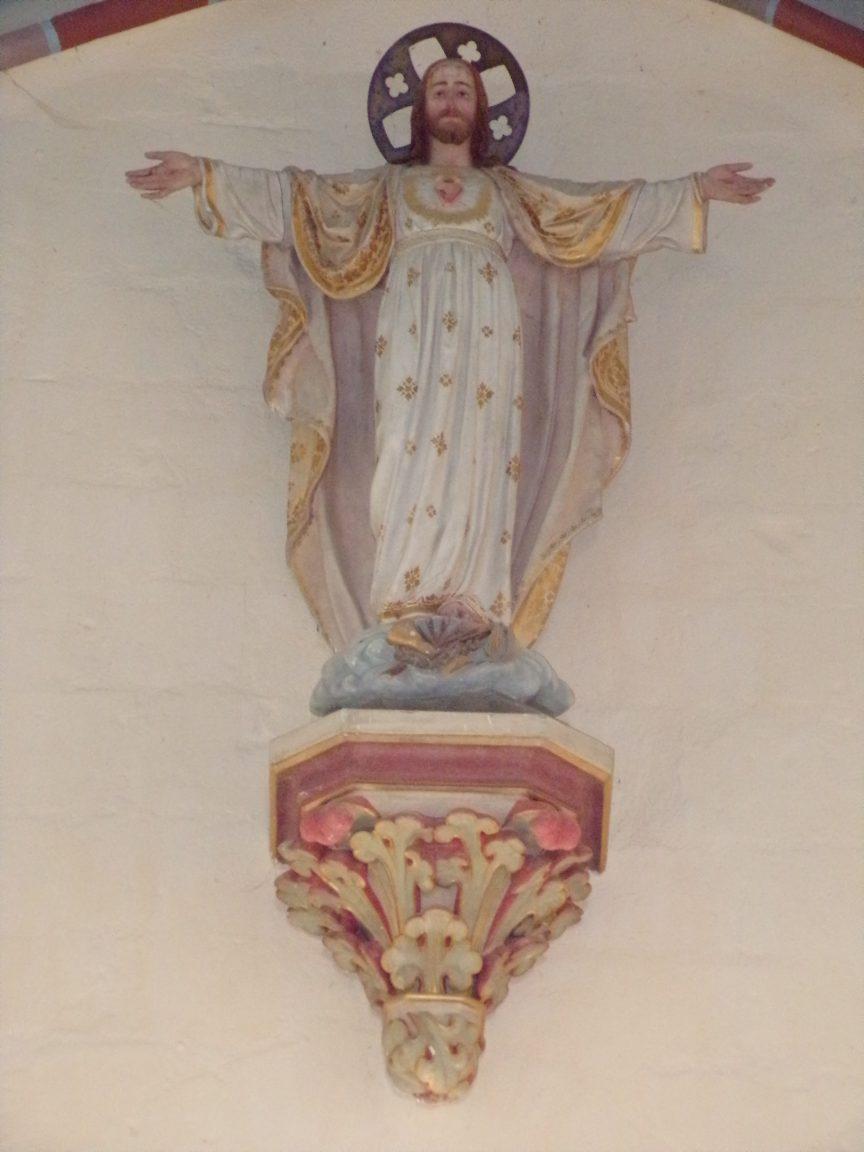 Mesnac - L'église Saint-Pierre - Sacré Coeur de Jésus (16 septembre 2018)