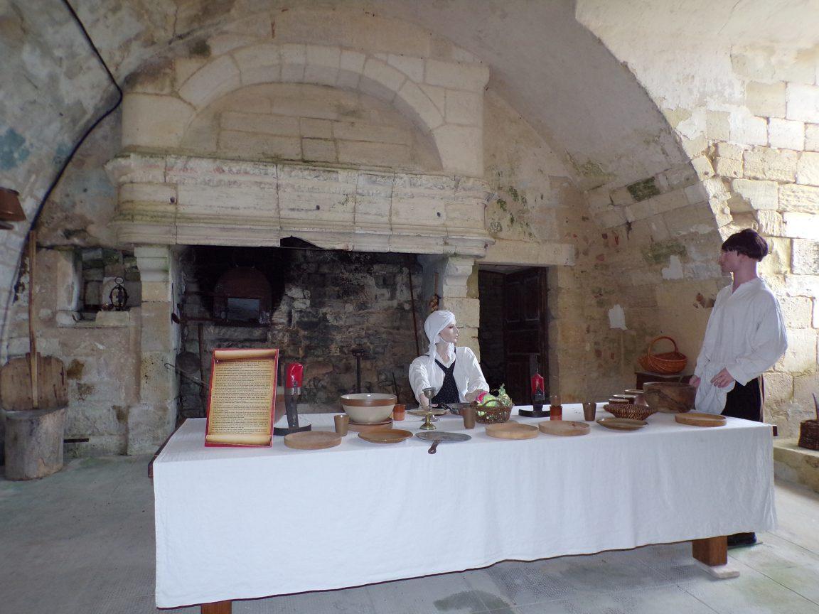 Neuvicq-le-Château - Le château - La cuisine (16 septembre 2018)