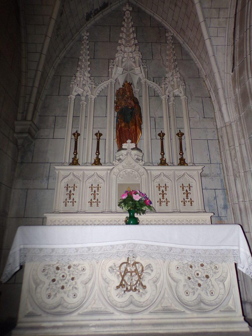 Javrezac - La chapelle de la Sainte Vierge (5 mars 2019)