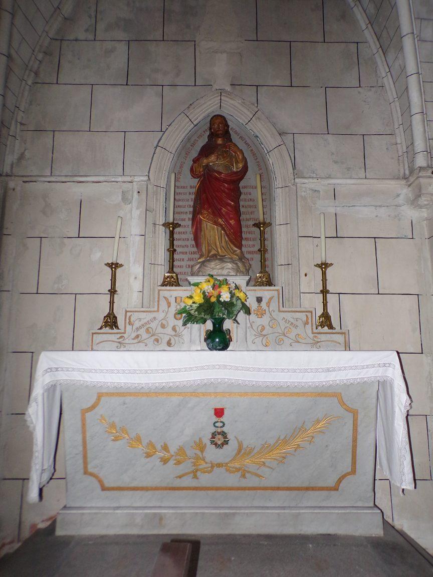 Javrezac - La chapelle du Sacré Coeur (5 mars 2019)