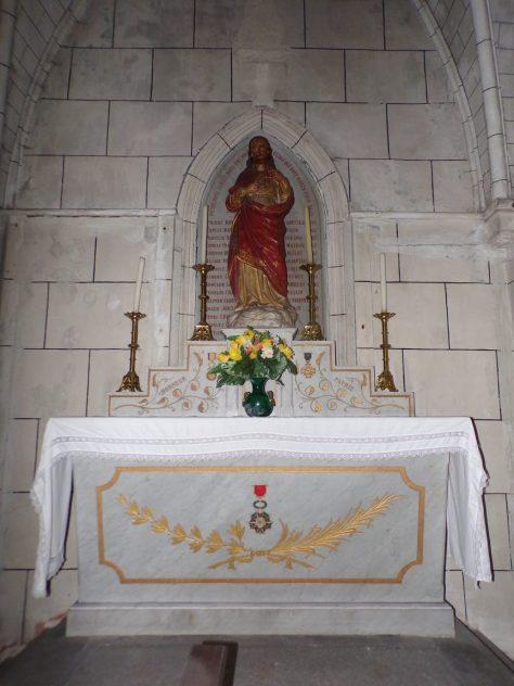 Chapelle du Sacré Coeur (5 mars 2019)