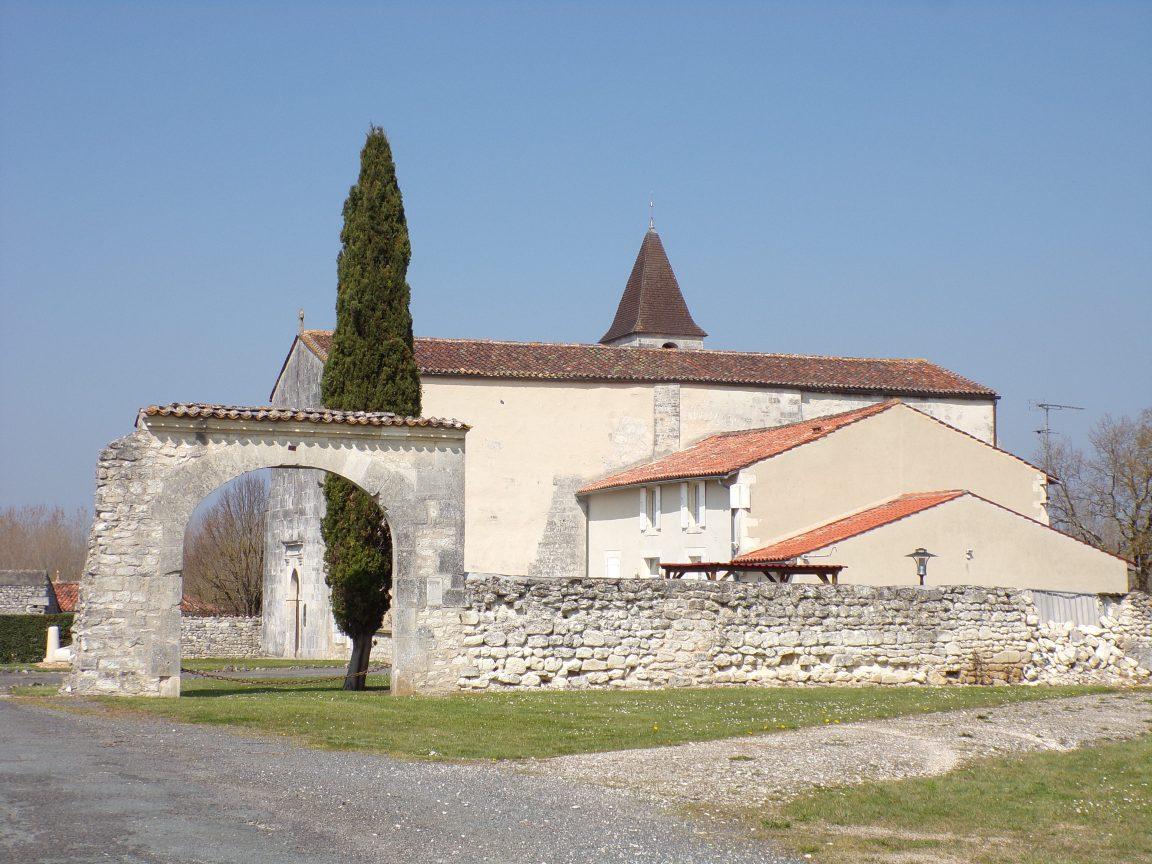 Merpins - L'église Saint-Rémy (24 mars 2019)