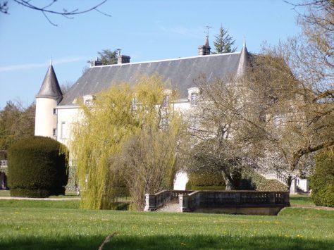 Saint-Brice - Le château de Saint-Brice (21 mars 2019)