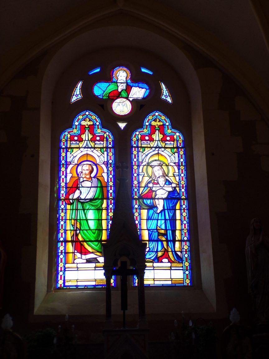 Angeac-Champagne - L'Eglise Saint-Vivien - Sancte Joseph, Mater Dei (13 mai 2019)