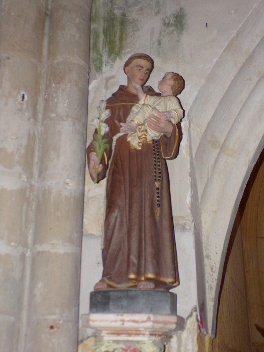 Angeac-Champagne - L'Eglise Saint-Vivien - Saint Antoine de Padoue (13 mai 2019)
