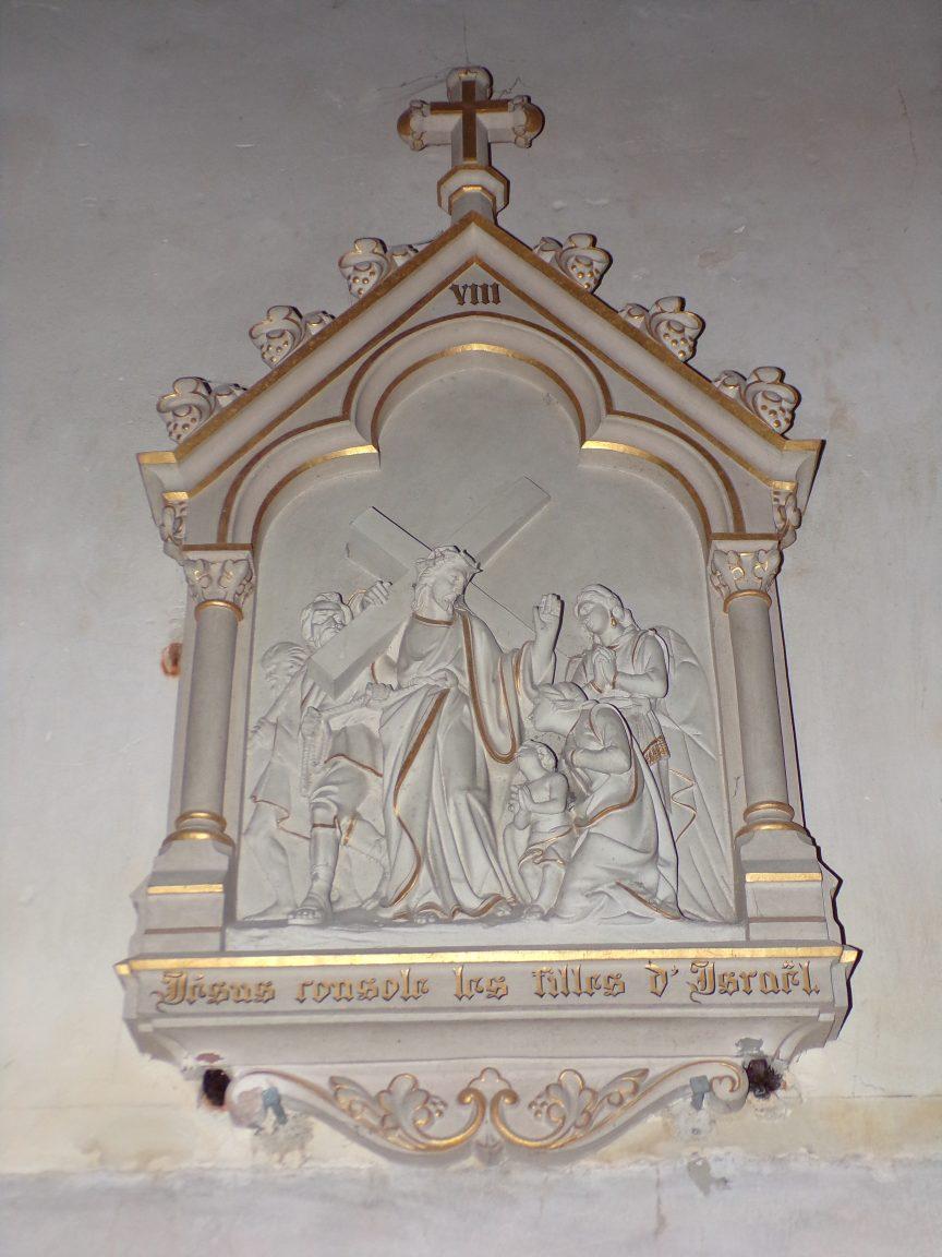 Angeac-Champagne - L'Eglise Saint-Vivien - Le chemin de Croix (13 mai 2019)