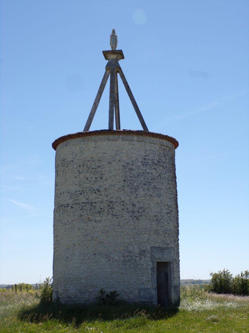 Gimeux - Le moulin à vent de Fanaud (13 mai 2019)