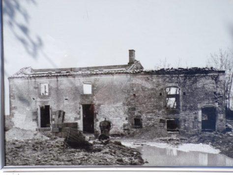 Sonnac - Le moulin 'Le Maine' - hier