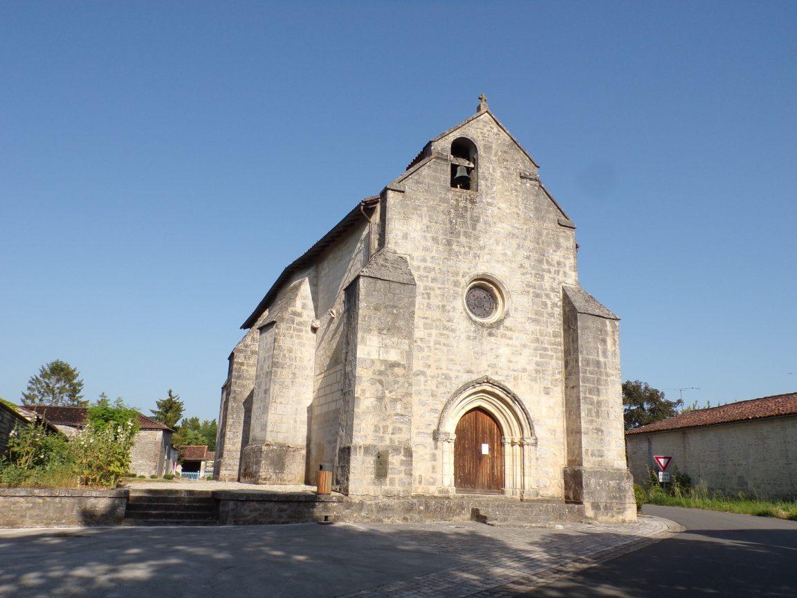 Mesnac - L'église Saint-Pierre (29 juin 2019)
