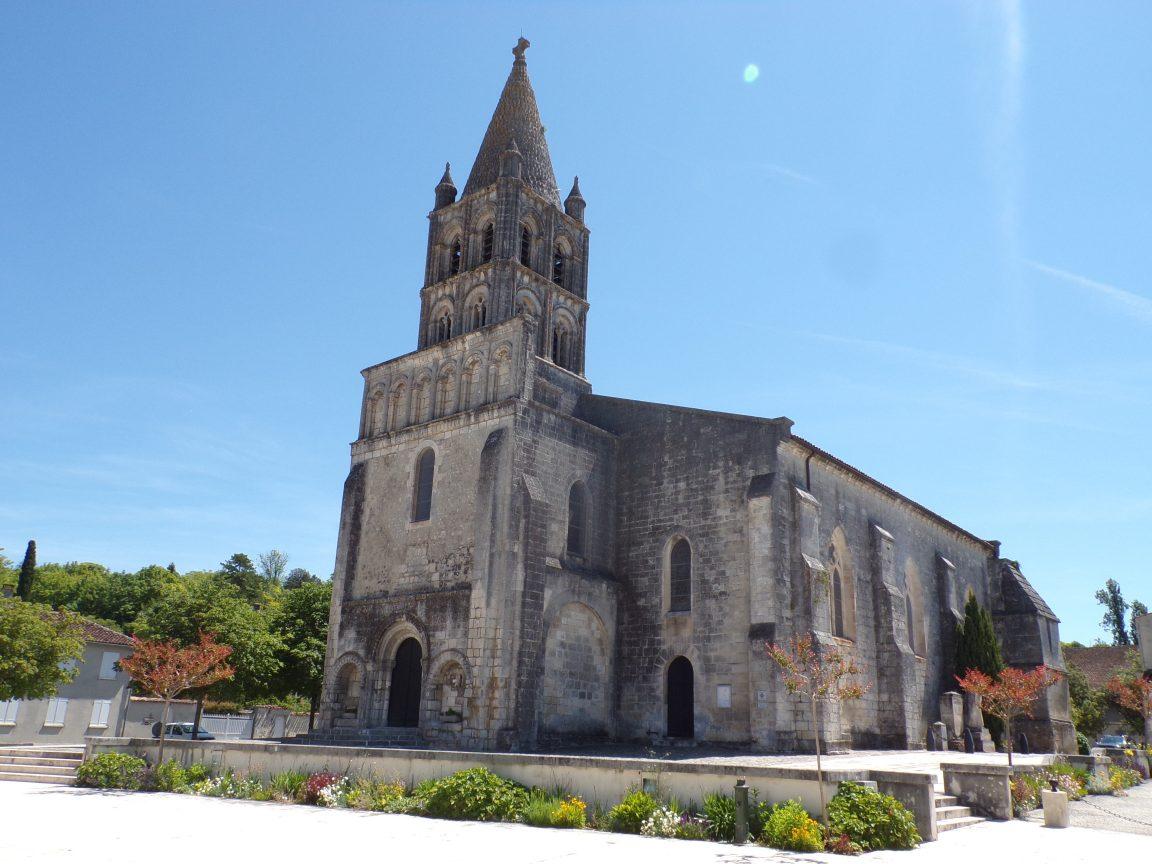 Segonzac - L'église Saint-Pierre (17 juin 2019)