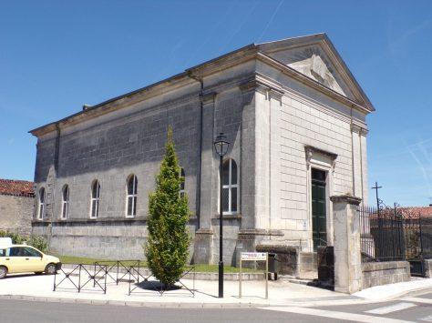 Segonzac - Le temple protestant (17 juin 2019)