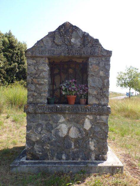 Bourg-Charente - Notre-Dame des Vignes - Route Martale (8 juillet 2019)
